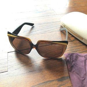 Stella McCartney Retro Mod Square Sunglasses